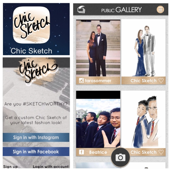Review: Chic Sketch App | Hi-tech Chic