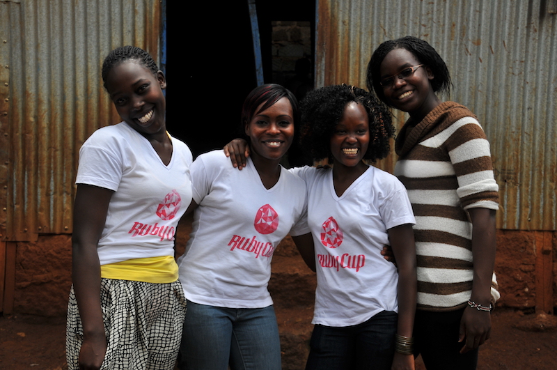 The Ruby Cup: Helping Young Women in Kenya