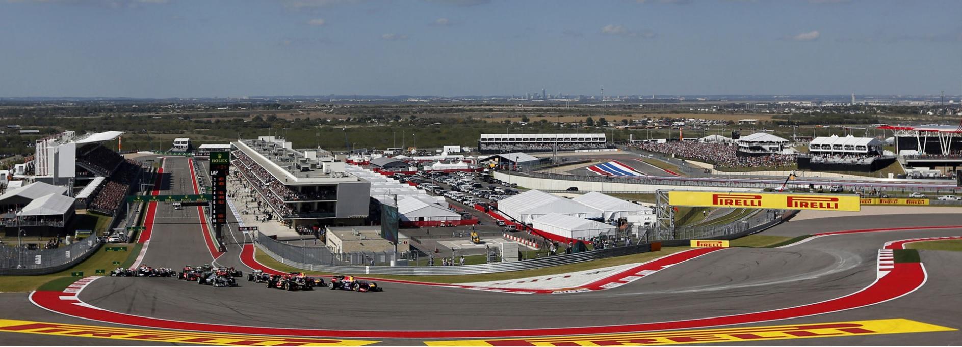 Formula 1 track