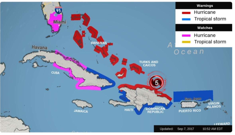 Irma Map