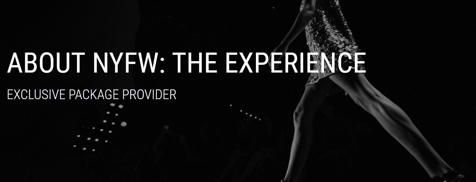 NYFW experience