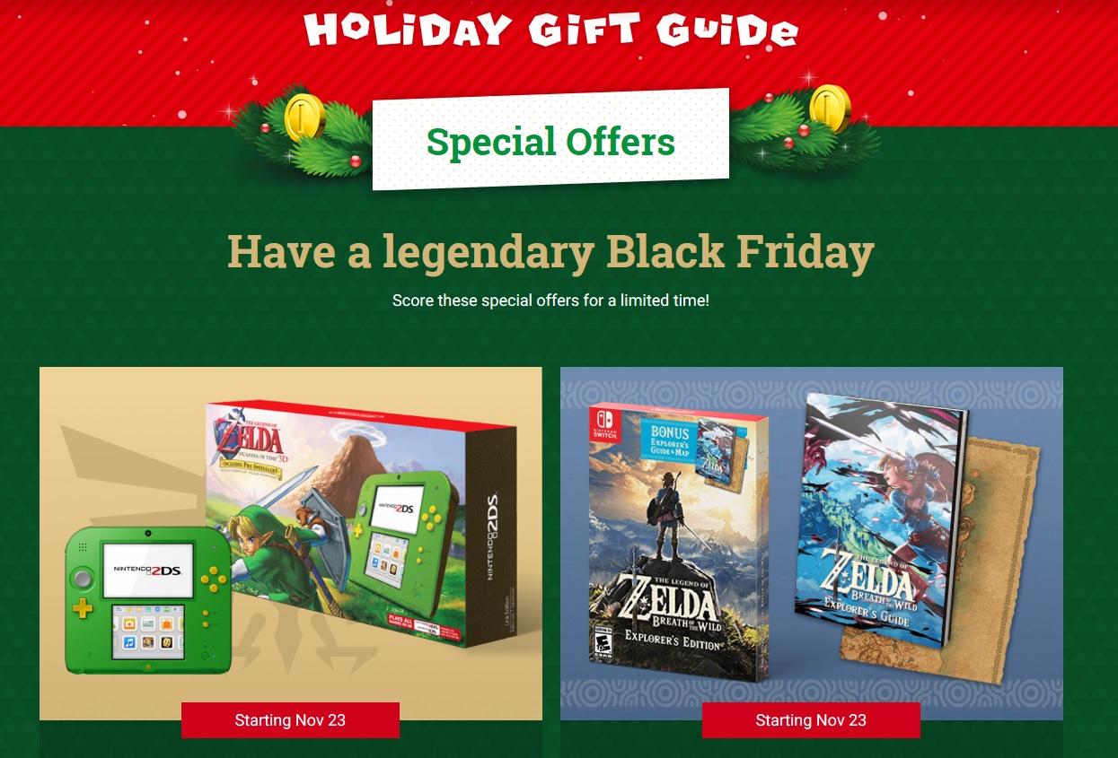 Nintendo Holiday