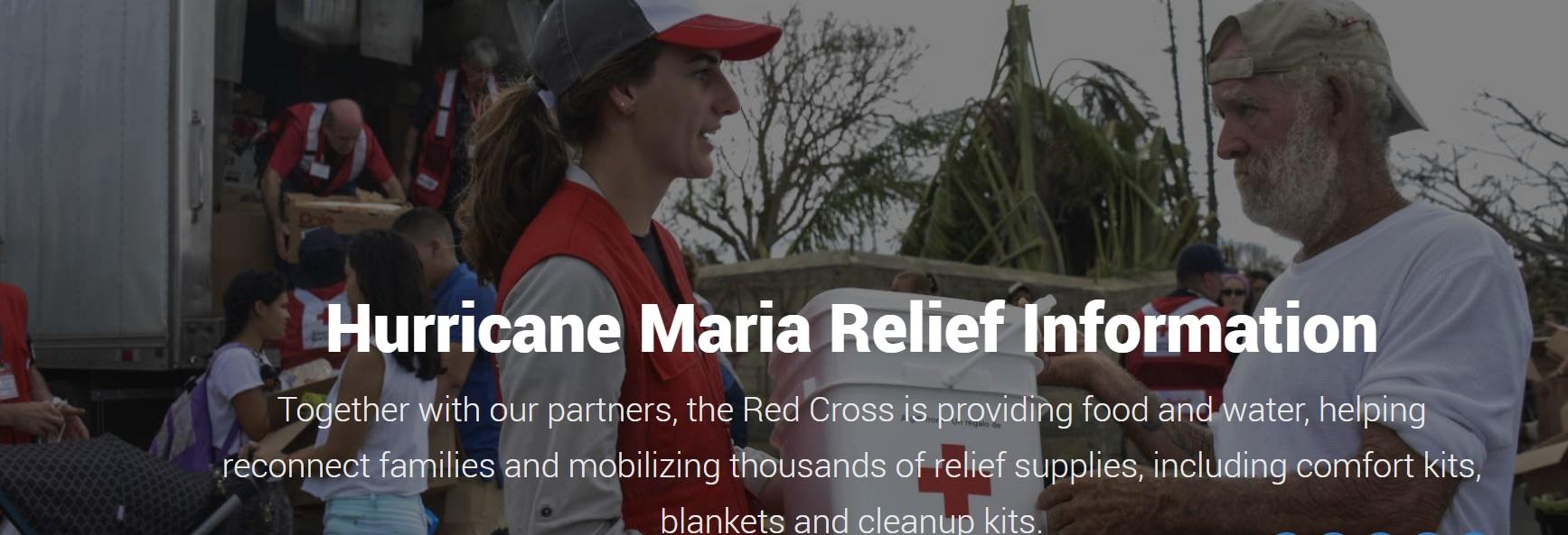 Red Cross Hurricane
