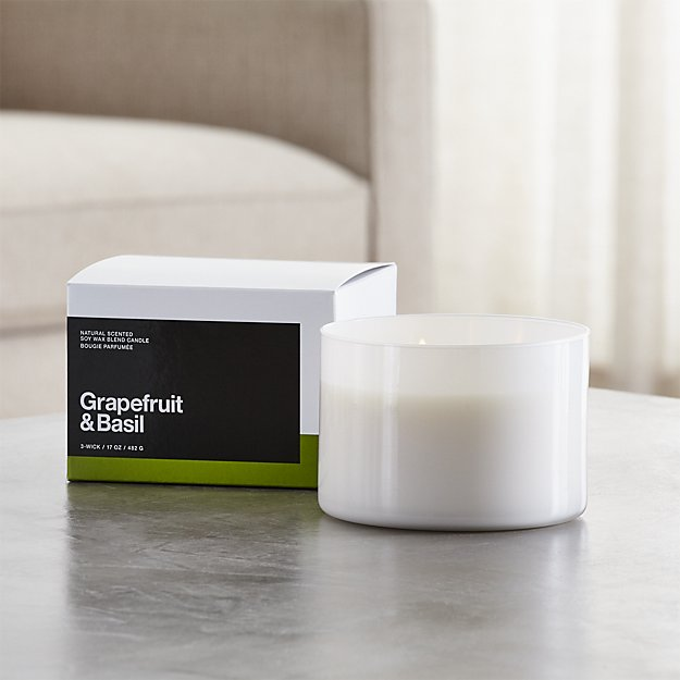 Crate and Barrel Candle