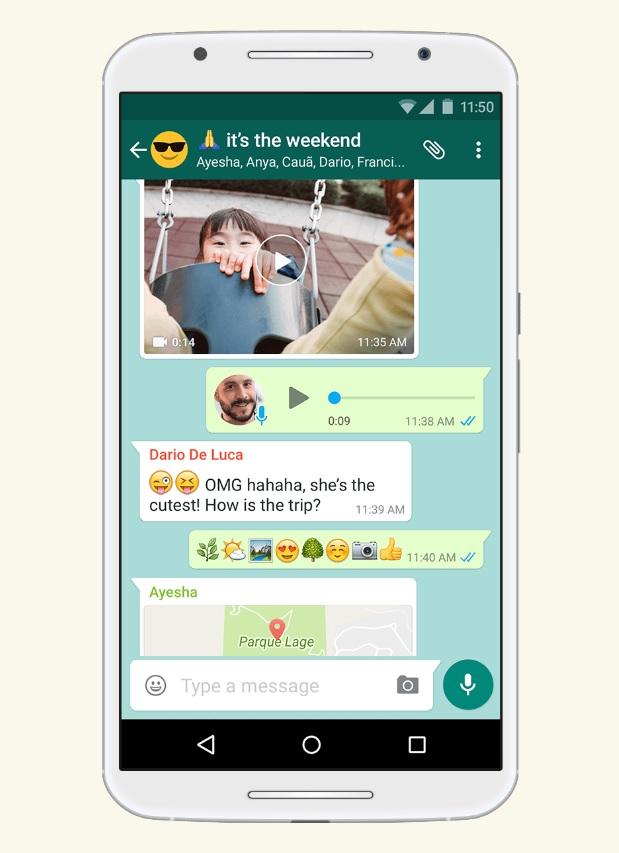 WhatsApp Title