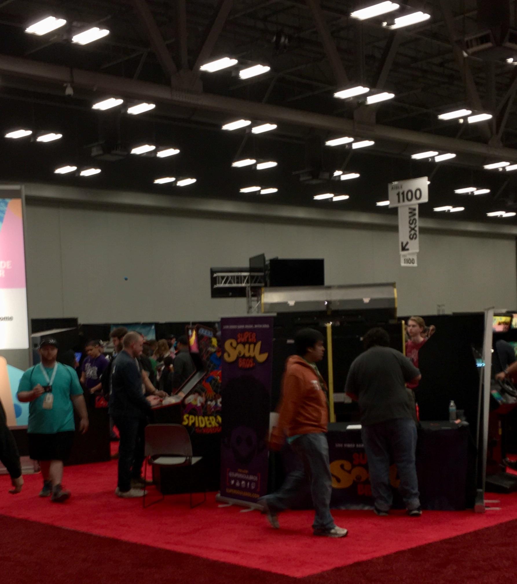 SXSW Gaming Arcade M