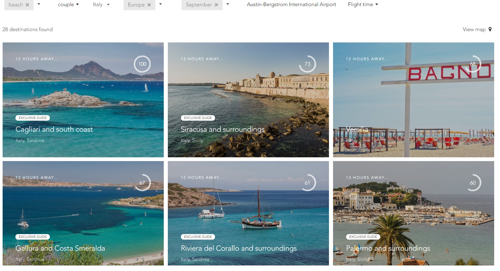 Vivere Summer 2018 Search Results