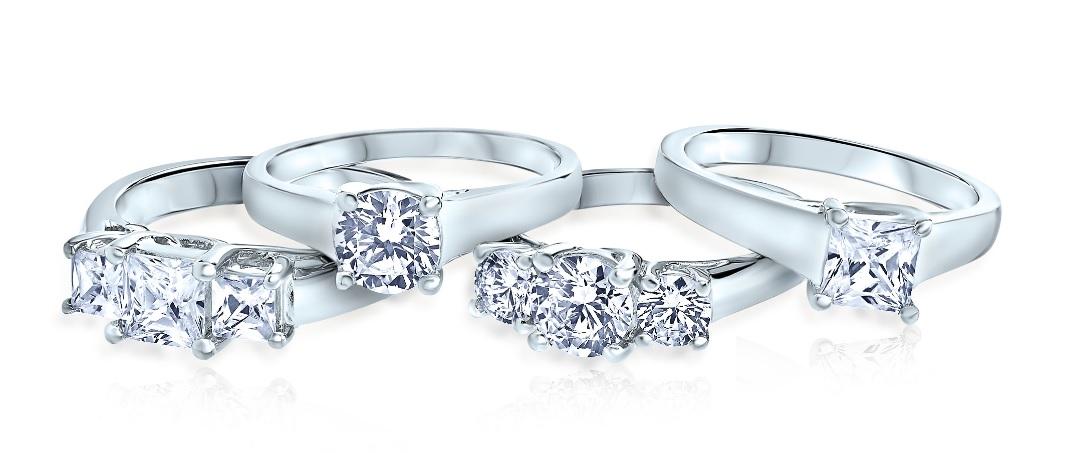 Hayden 4 Ring Engagement