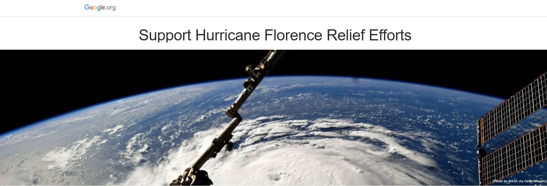 Hurricane Florance 2018