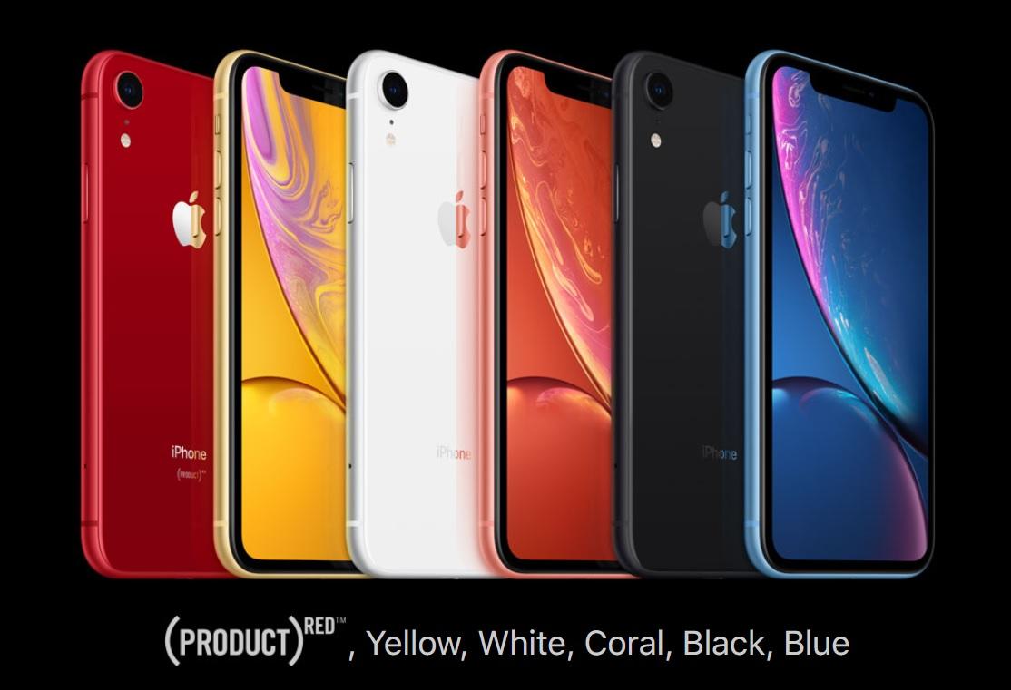 iphone XR fall 2018