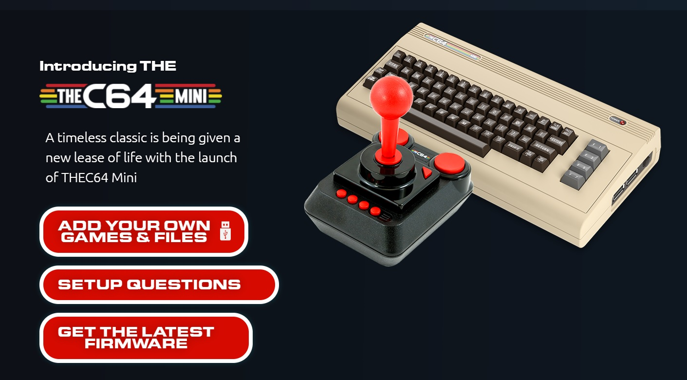 C64 Comes with