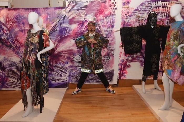 David C art basel Kimono