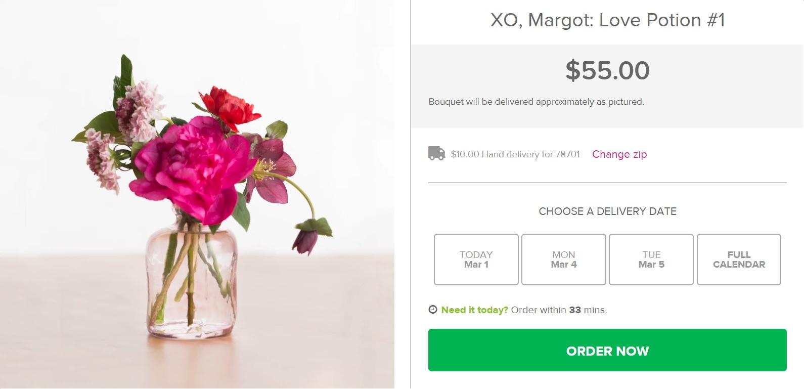 BloomNation Order online