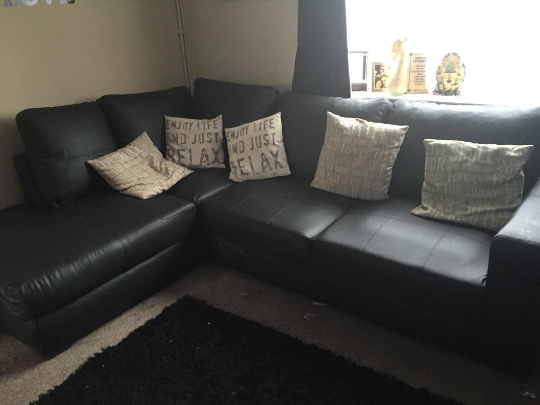 corner recliner sofa northern ireland cama milano bedding lucky bonded hi 5 home furniture