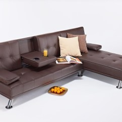 Corner Sofa Bed New York Sofas With Recliners And Cup Holders Leather Hi 5 Home Furniture Designer Cinema Tv Style Table