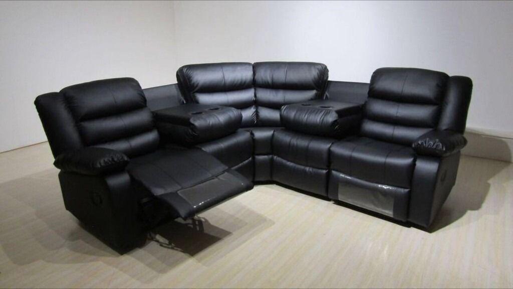 leather corner sofa beds ireland simmons reclining and loveseat titan - hi 5 home furniture