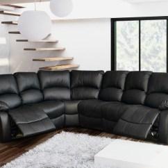 Corner Recliner Sofa Northern Ireland Black Rattan Garden Furniture Miami Leather Hi 5 Home