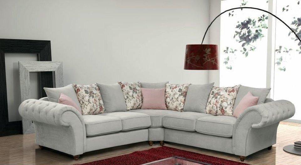 corner recliner sofa northern ireland suede leather india roma - hi 5 home furniture