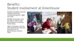POW, Greenhouse, Prince of Wales, Biomass