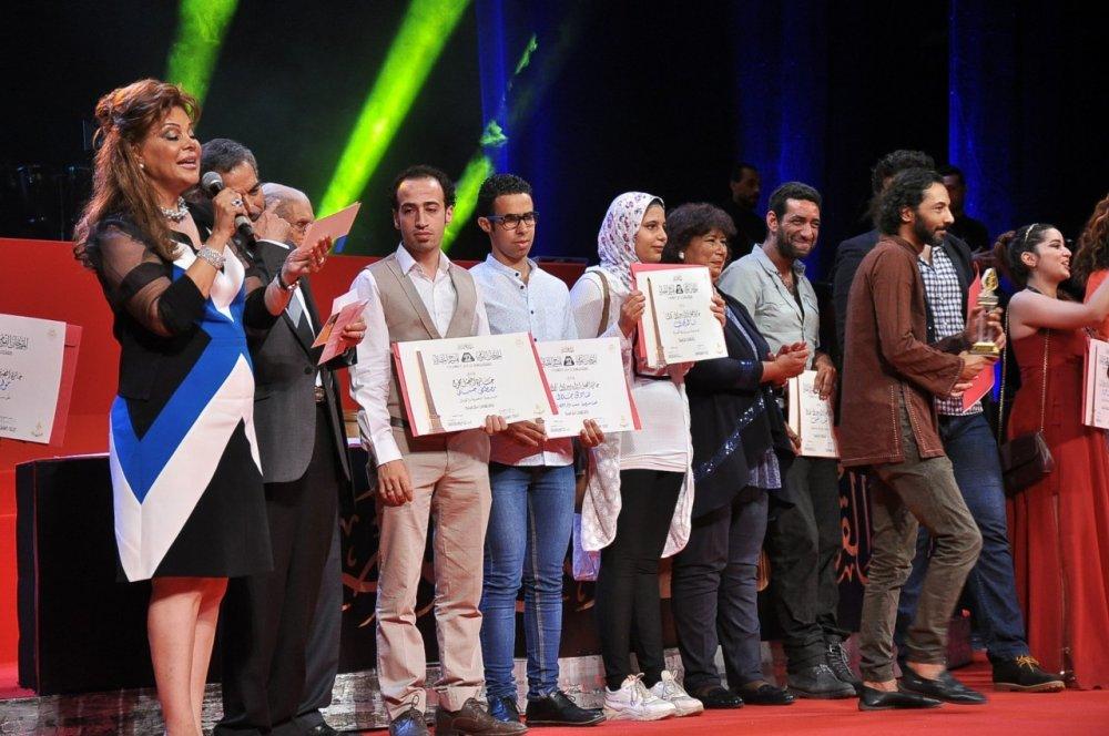 الفائزين بجواز المهرجان القومي للمسرح