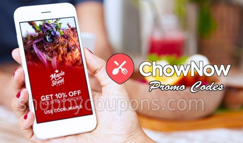 ChowNow Promo Code 2020