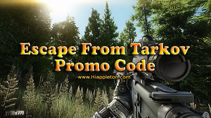 escape from tarkov promo code 2020