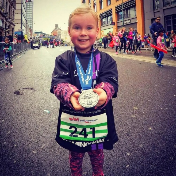 Xanthe Smashes Mini Great Birmingham Run