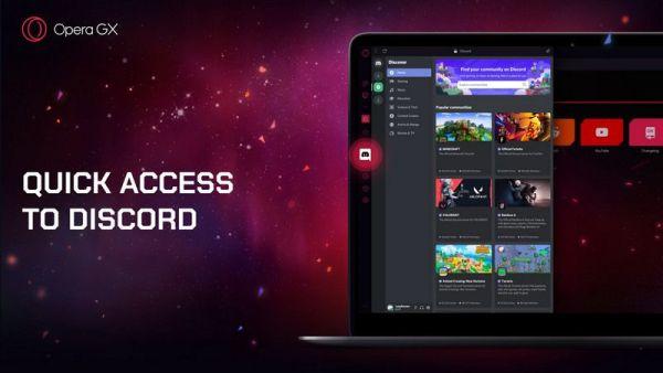 Opera GX 68 trae soporte para Discord, un Hot Tabs Killer y más