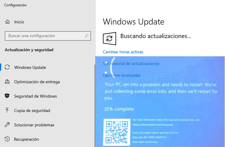 Microsoft confirma que la actualización de Windows 10 KB5000802 está bloqueando las PC con múltiples e interminables BSoD