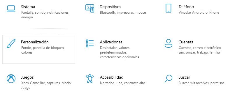 Instale los nuevos íconos del sistema del canal de desarrollo en Windows 10 estable