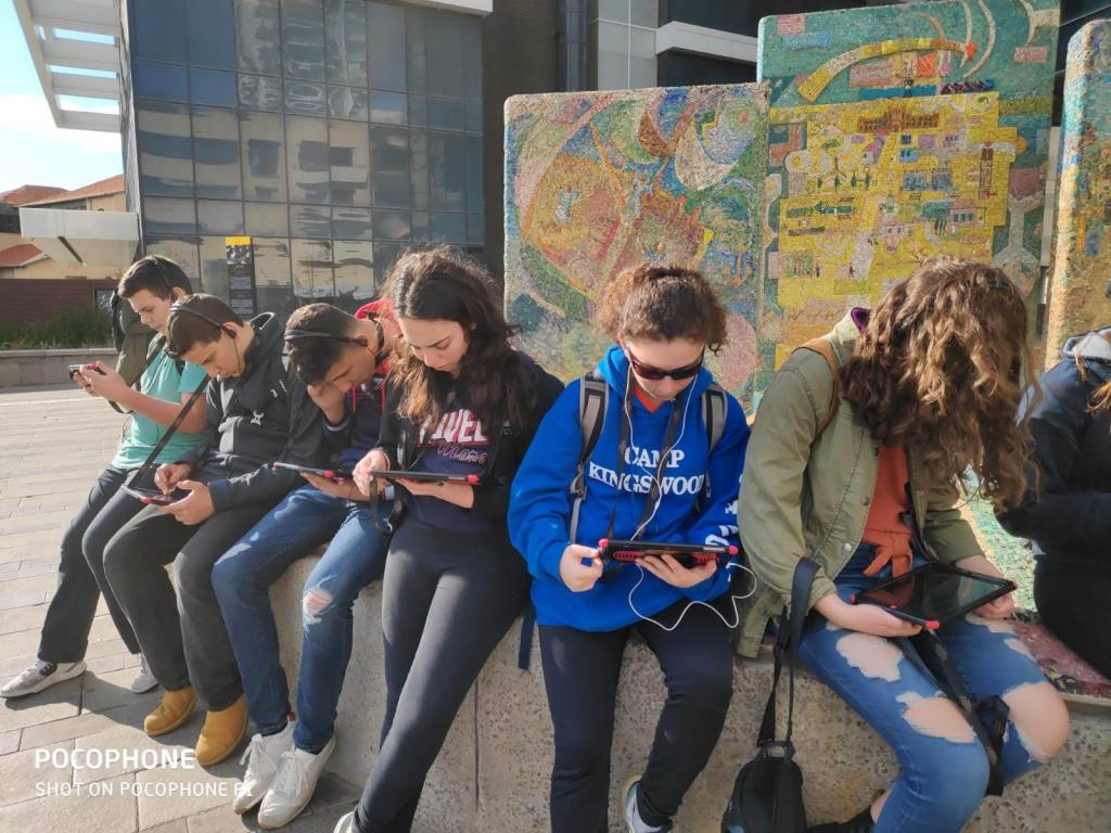 Tour of Tell Aviv with Tablets