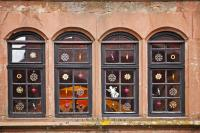 Decorated Christmas Windows | Photo, Information