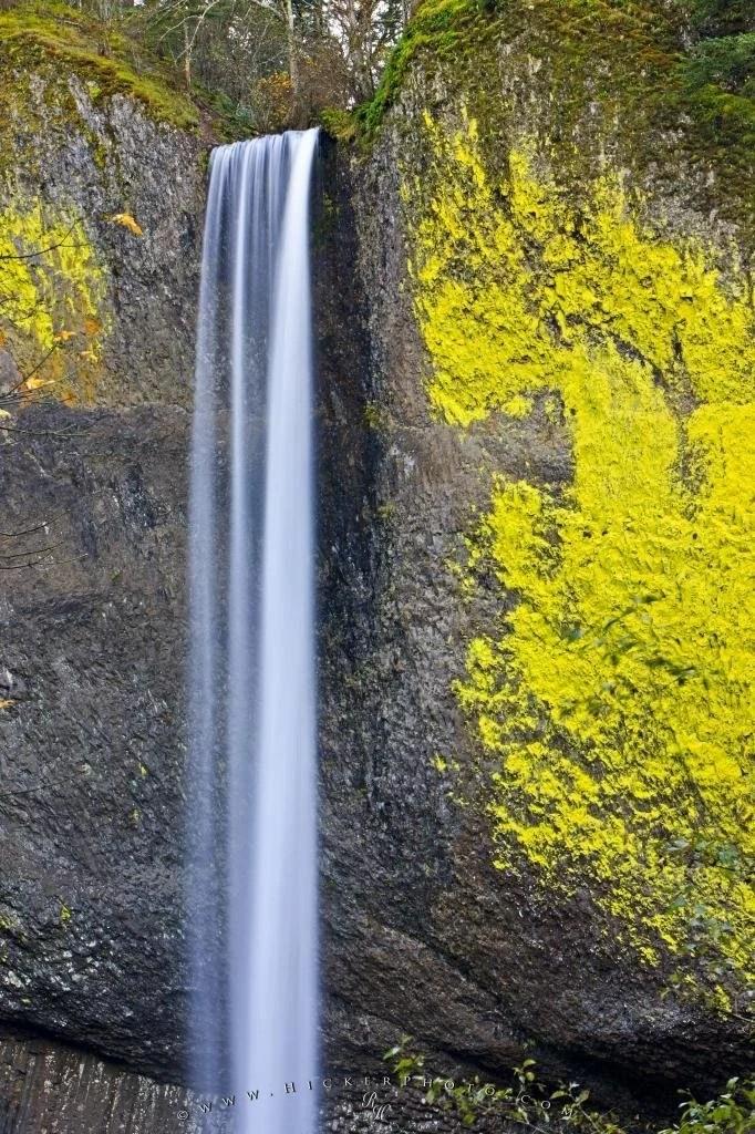 Free Wallpaper Fall Season Latourell Falls Oregon Usa Photo Information