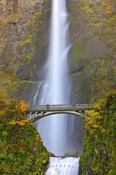 Multnomah Falls Oregon Winter Wallpaper Fall Multnomah Falls Waterfall Oregon Photo Information