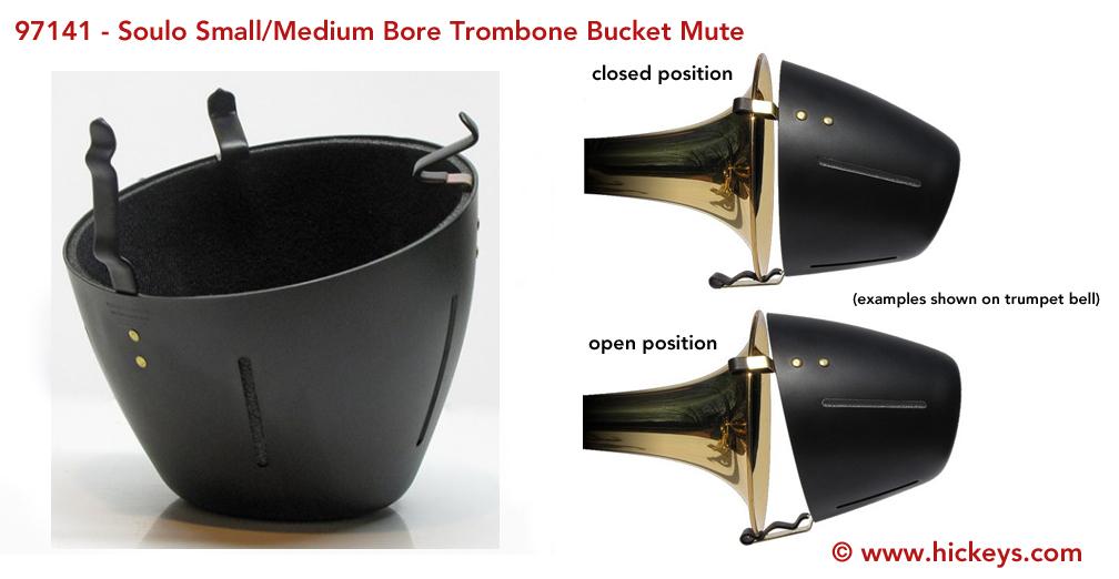 soulo sm5712 trombone bucket