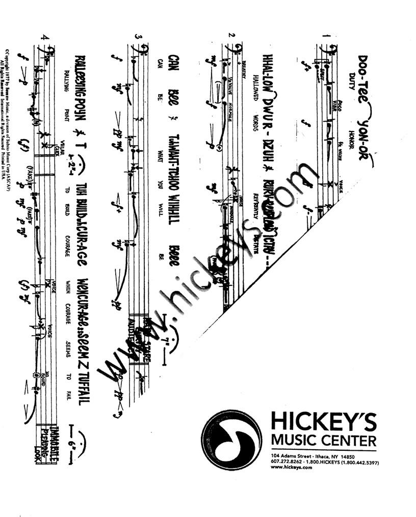 Erickson, Robert General Speech for Bass Trombone Solos