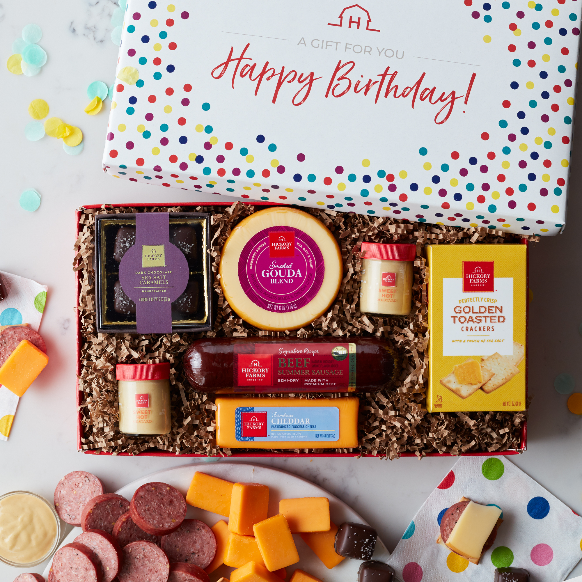 Best Birthday Wishes Gift Box Hickory Farms