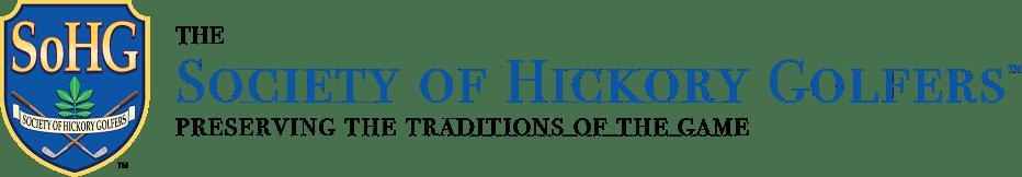 The Society of Hickory Golfers Logo