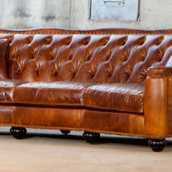 Discount Leather Sofas Sofa With Center Console Classic Furniture Store And Showroom In ...