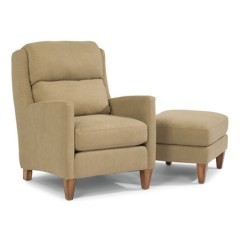 Flexsteel Leather Sofa Reviews 4 U 5667-10-08 Reed Fabric Chair And Ottoman ...