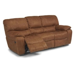 Flexsteel Double Reclining Sofa Reviews Sleeper Pull Out 1541-62p Grandview Power Discount ...