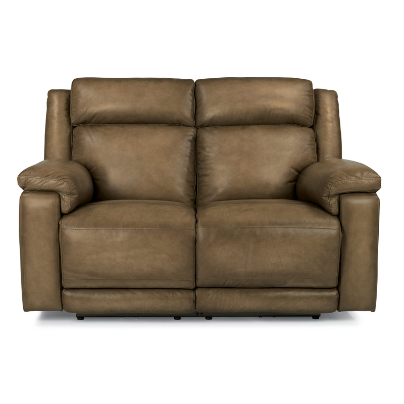 broyhill sofa and loveseat pottery barn with chaise flexsteel 1509-60ph brody leather power reclining ...