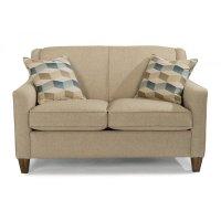 Flexsteel 5118-20 Holly Fabric Loveseat Discount Furniture ...