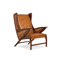 Hancock and Moore 5908 Boomerang Chair Discount Furniture ...