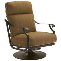 Tropitone 720225n Montreux Cushion Swivel Action Lounger