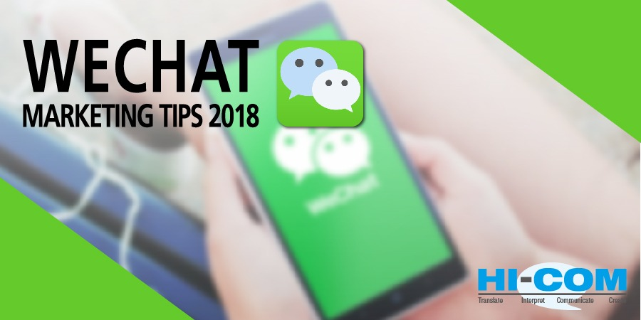 WeChat SEO, WeChat Best Content and Marketing Tactics for 2018