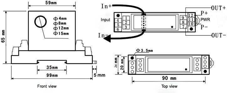 HiComponent_Signal Generator, Signal Simulator, Pressure