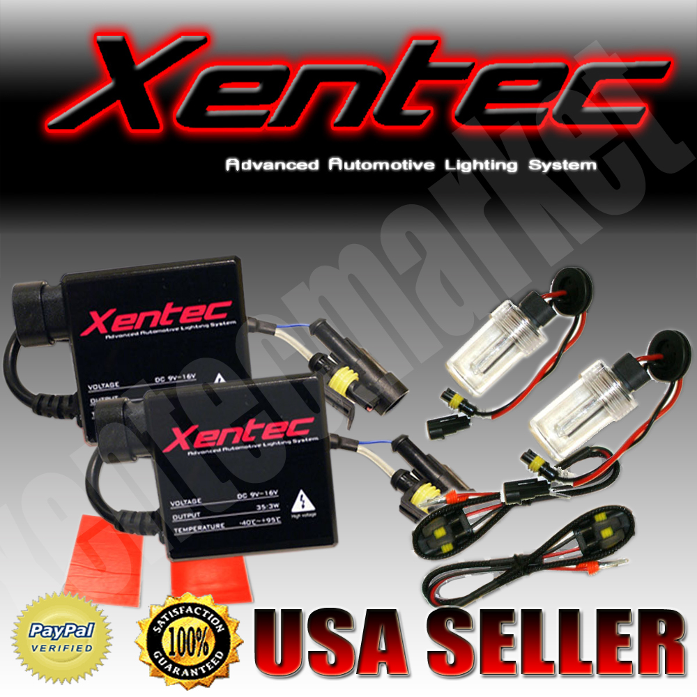 hight resolution of xentec hid kit slim xenon 9003 h4 hi lo 8000k blue high low conversion lights ebay