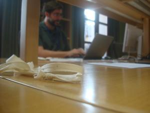 Un servidor en el Archivo de la Real Chancillería de Granada, 16 de agosto de 2013.