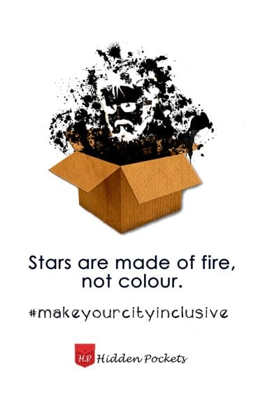 Colour should not define my Chennai! #makeyourcityinclusive